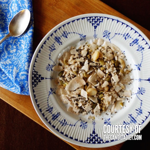 Bircher Muesli from Candida Diet