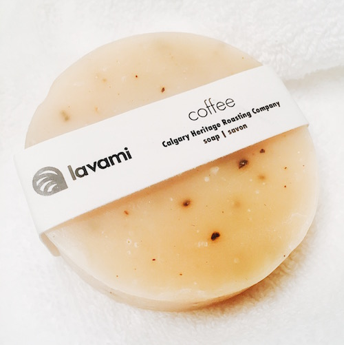 Lavami Coffee Soap - nicole porter wellness