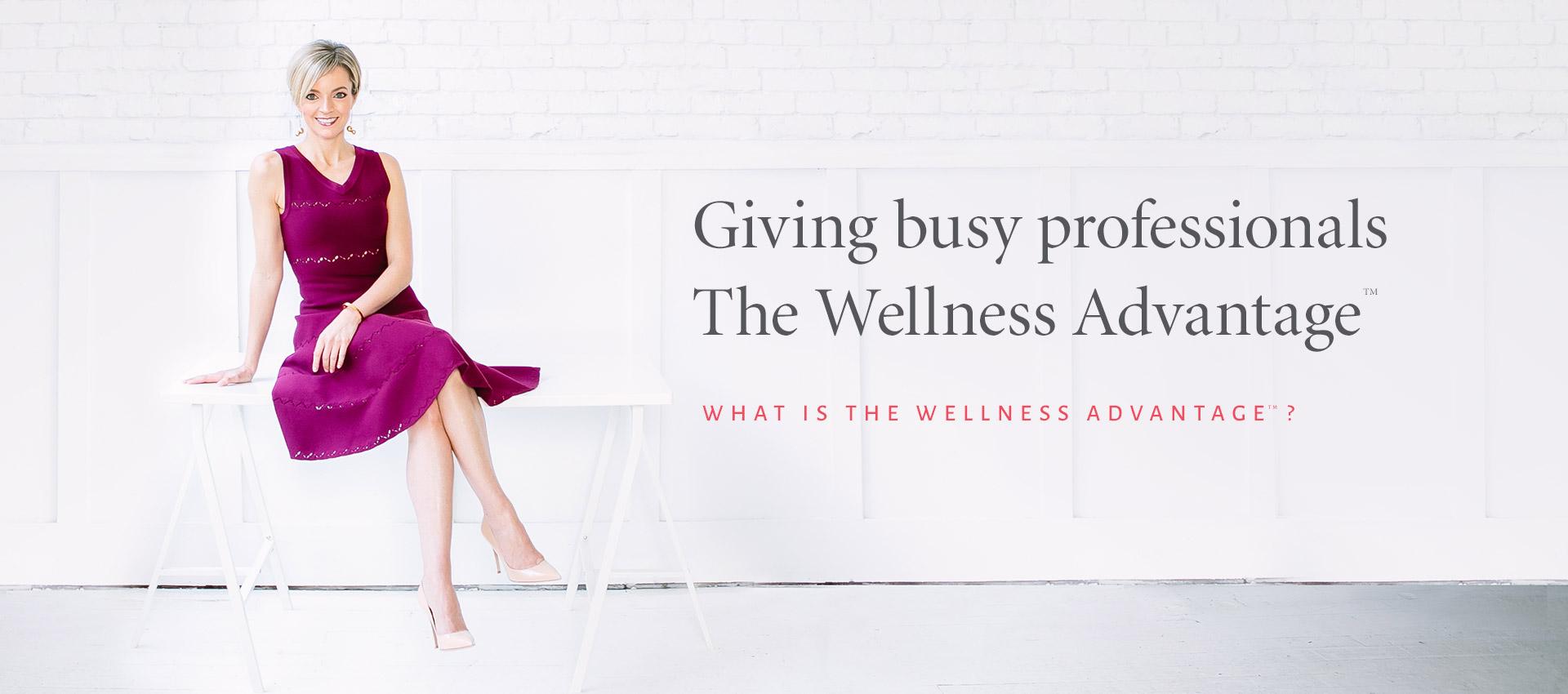 The Wellness Advantage - Nicole Porter Wellness Corporate Wellness Coach