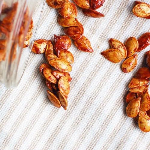 Cinnamon toast crunch pumpkin seeds recipe Nicole Porter Wellness