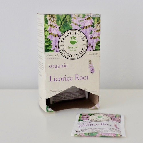 nic's picks organic liquorice root tea