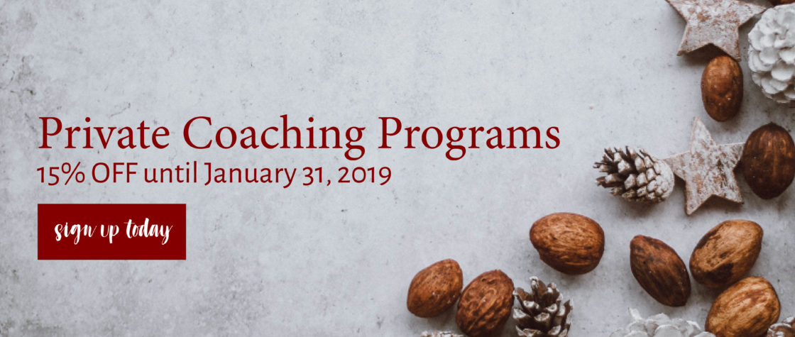 Private Coaching Programs Secondary Home 15% Off Promo Jan 31