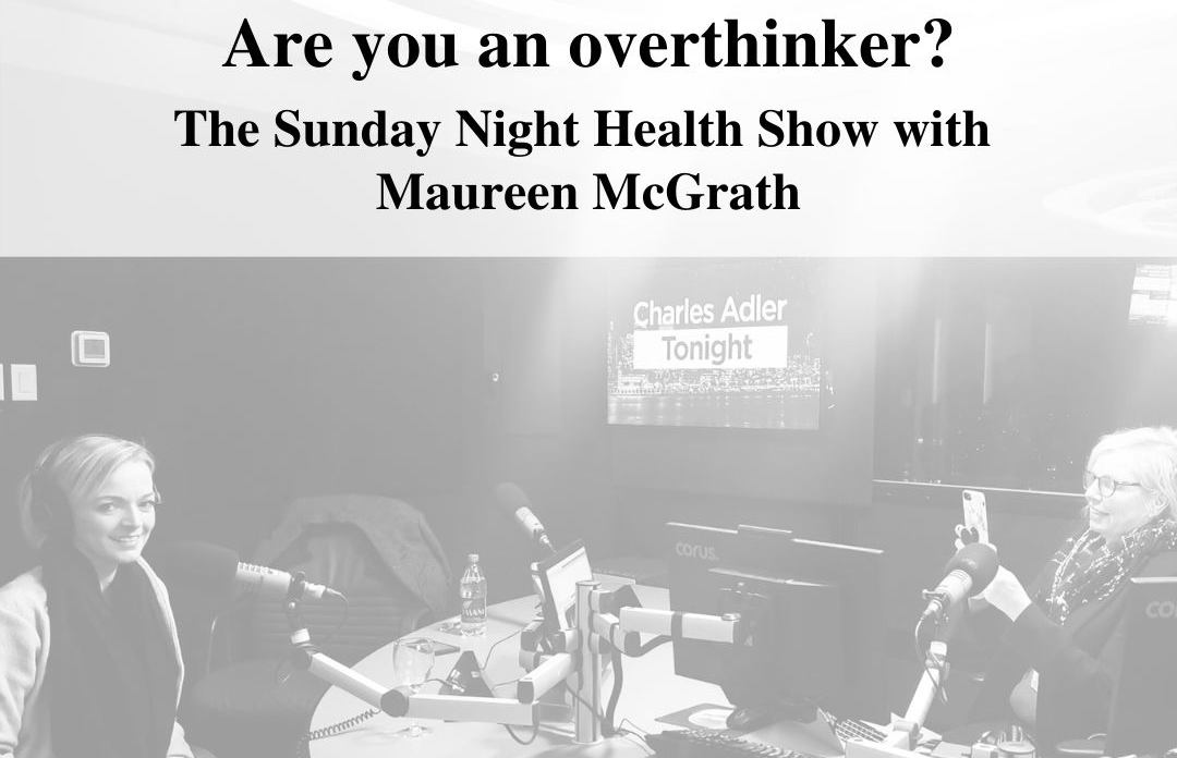 Are-you-an-overthinker, with Nicole Porter and Maureen Mcgrath