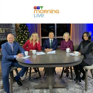 Nicole Porter - Stress Interview on CTV Morning Live