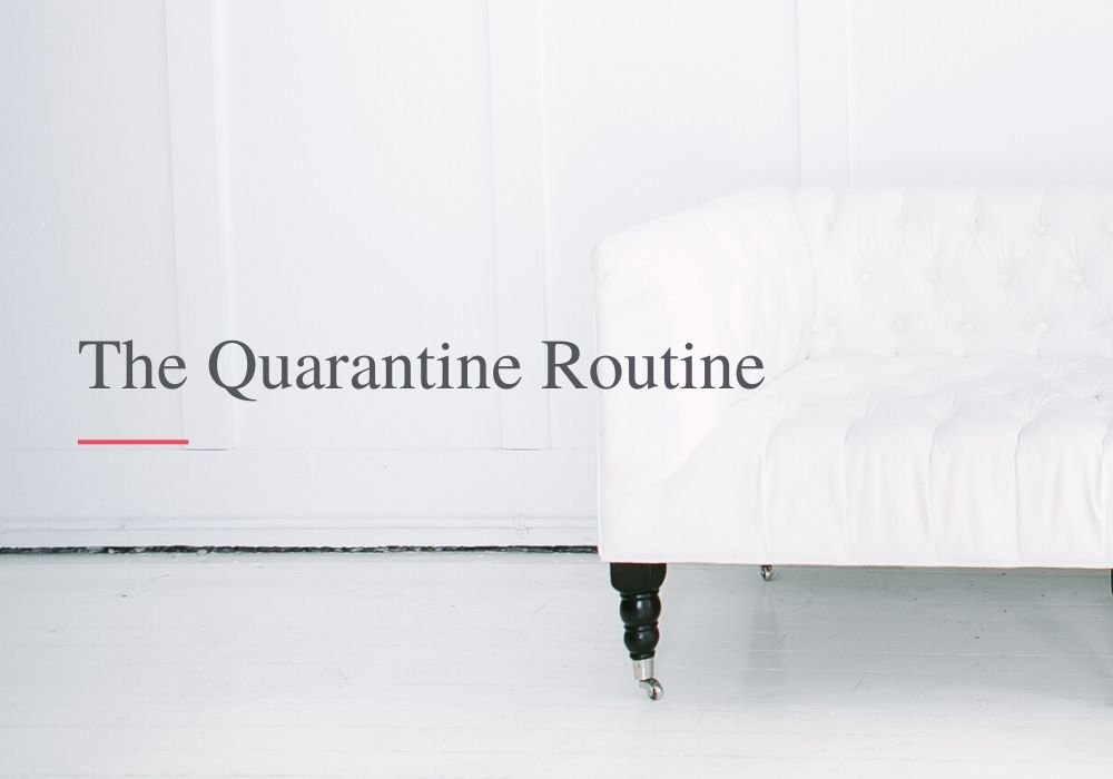 Online course - The quarantine routine,