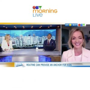 Nicole Porter Interview CTV Morning Live - Routine and Stress