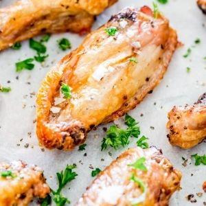 Salt & Pepper Chicken Wings Nic's Picks